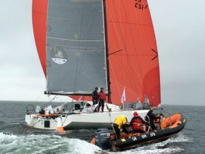Talès II vainqueur de la Normandy Channel race 2016