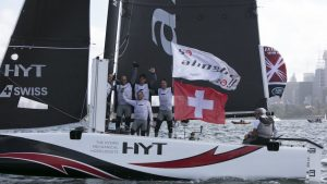 Alinghi win Sydney finale to secure 3rd Etreme Sailing Series Title