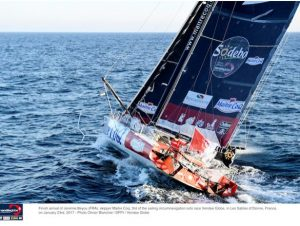 Jérémie Beyou, Maître Coq takes third place in the Vendée Globe
