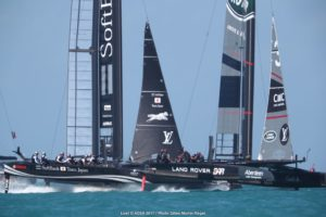 A smashing start to the 35th America's Cup