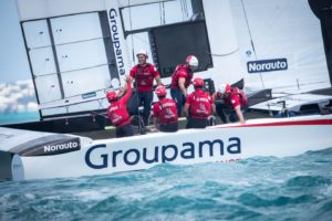 America's Cup : The sun shines on Cammas and Burling in Bermuda