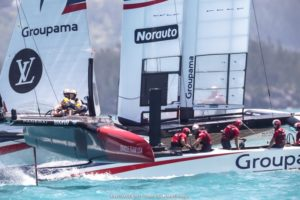 America's Cup : « Band-aid » solution helps ORACLE TEAM USA take the win to open Round Robin 2