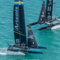 Close competition and contrasting fortunes in the Louis Vuitton America's Cup challenger playoffs