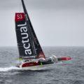 Yves le Blevec : Tour du monde à l'envers en solitaire sur multicoque, c'est parti!