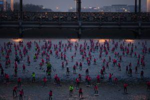 La grande Seine du Nautic SUP Paris Crossing