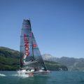 Monofoil Gonet: un voilier novateur sur le Lac Léman