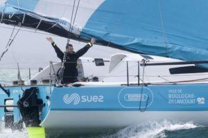 Route du Rhum-Destination Guadeloupe 2018 : Stéphane Le Diraison (Time For Oceans) 8ème en IMOCA