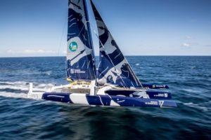 Route du Rhum 2018 : Etrave flotteur tribord arrachée à bord du Maxi Edmond de Rothschild