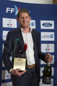 Charles Caudrelier élu Marin de l'Année 2018