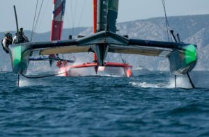 Nathan Outteridge and Tom Slingsby one step closer to SailGP Championship