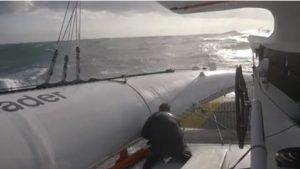 Brest Atlantiques : Images du bord – Actual Leader #1