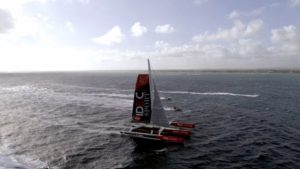 Francis Joyon has shattered the Mauritius Route record