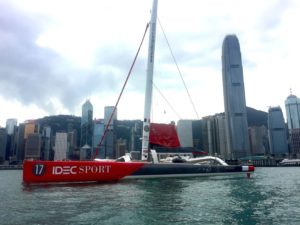 The finish in Shenzhen (China) – the end of the third Act of the IDEC SPORT Asian Tour