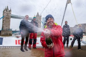 Francis Joyon Grabs the Tea Route Record finishing in London