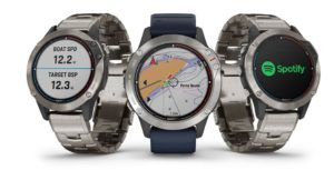 Garmin® introduces quatix® 6 marine GPS smartwatch series with comprehensive connectivity, larger display and much more