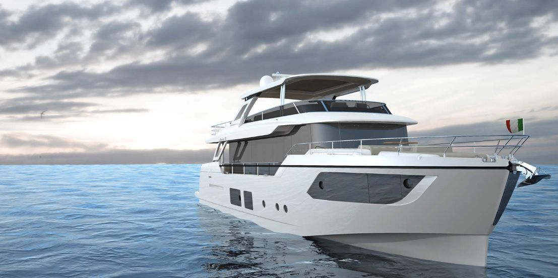 Absolute Yachts Navetta 73 (Fly / Motor Yacht)