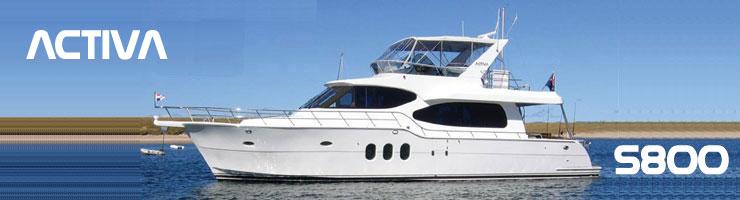 Activa Yachts 5800 (Fly / Motor Yacht)