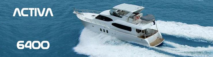Activa Yachts 6400 (Fly / Motor Yacht)