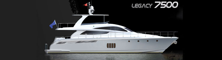 Activa Yachts 7500 Legacy (Fly / Motor Yacht)