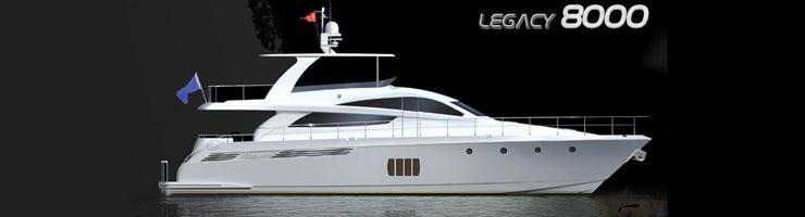 Activa Yachts 8000 Legacy (Fly / Motor Yacht)