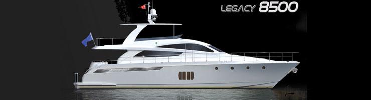 Activa Yachts 8500 Legacy (Fly / Motor Yacht)
