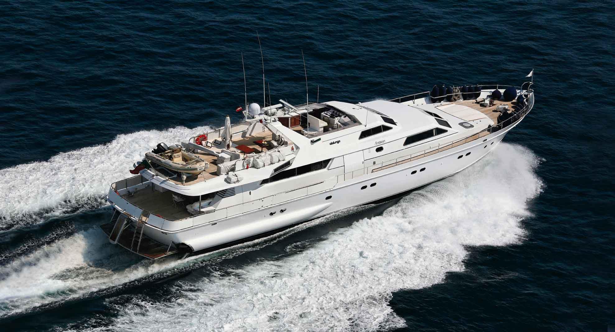 Alalunga <strong>Antisan -ex Laissez Faire - Lucky Fireball C - Shy Lady</strong> (Motor Yacht / Fly)