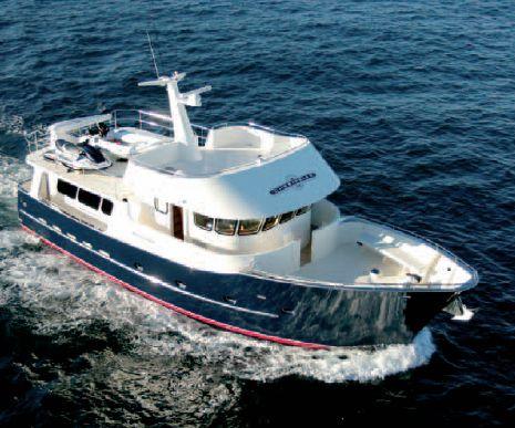 Allan Barnett Chesapeake 58 (Fly / Motor Yacht)