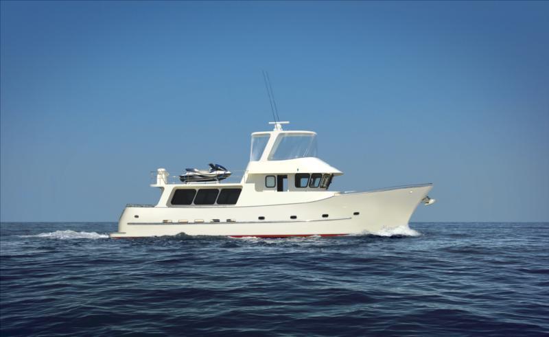 Allan Barnett High Seas 63 (Fly / Motor Yacht)