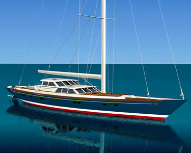 Alloy Yachts <strong>Paraiso</strong> (Sailing Yacht)