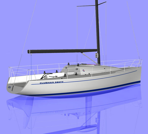 Austral Yachts Clubman 360 TT (Sailing Yacht)