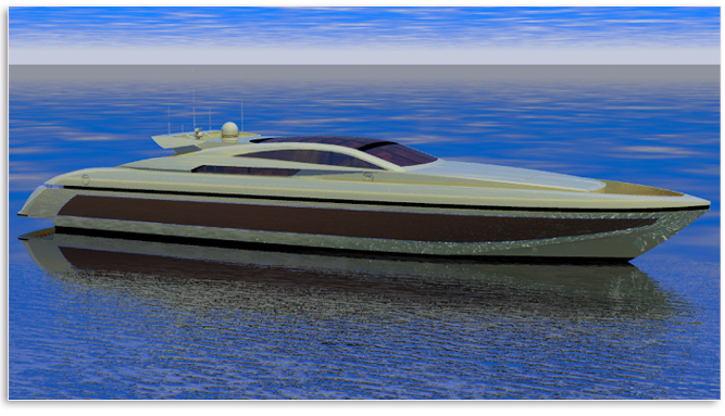 Baglietto 34 M Hard Top (Motor Yacht)