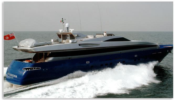 Baglietto Fastline 38M (Motor Yacht)