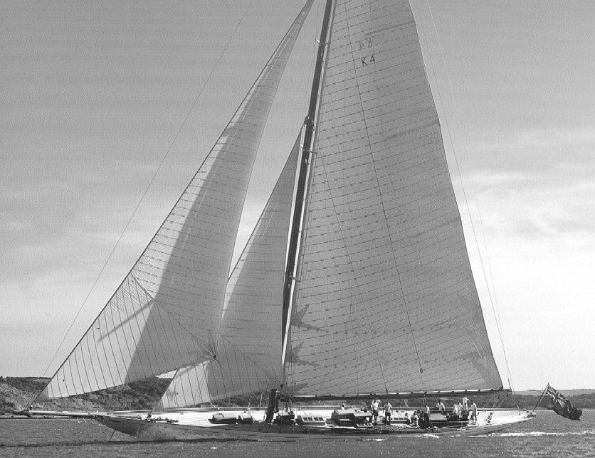 William Fife & Sons <strong>Cambria</strong> (Sailing Yacht)