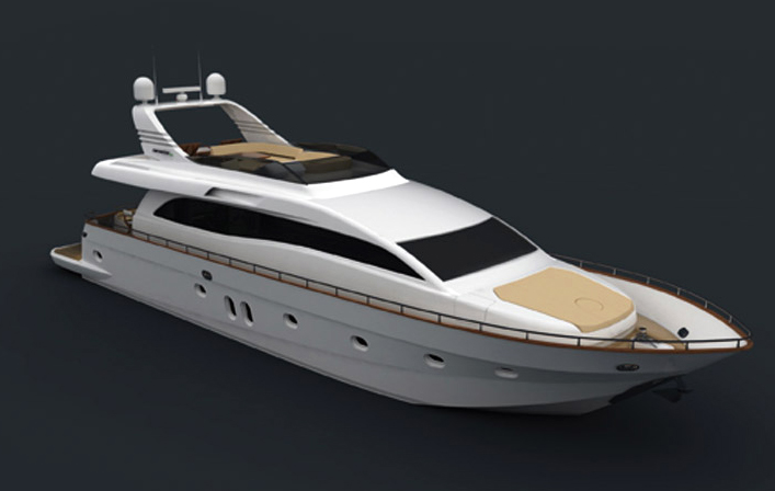 Canados 76 (Fly / Motor Yacht)
