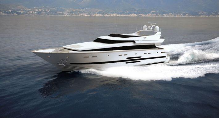 Cantieri Di Pisa Akhir 118 (Motor Yacht)