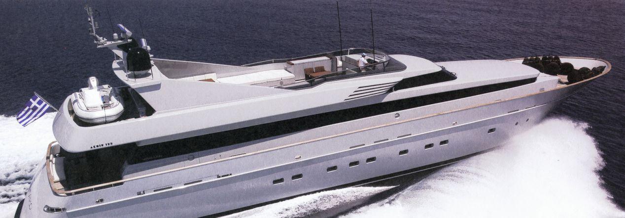 Cantieri Di Pisa Akhir 125 (Fly / Motor Yacht)