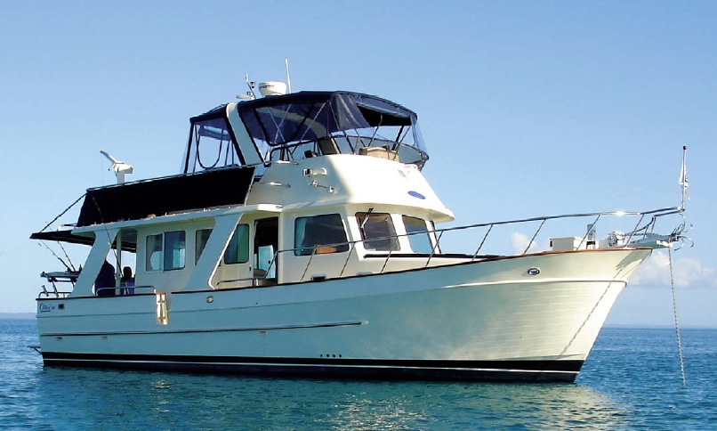 Clipper Motor Yachts Heritage 40 (Trawler)