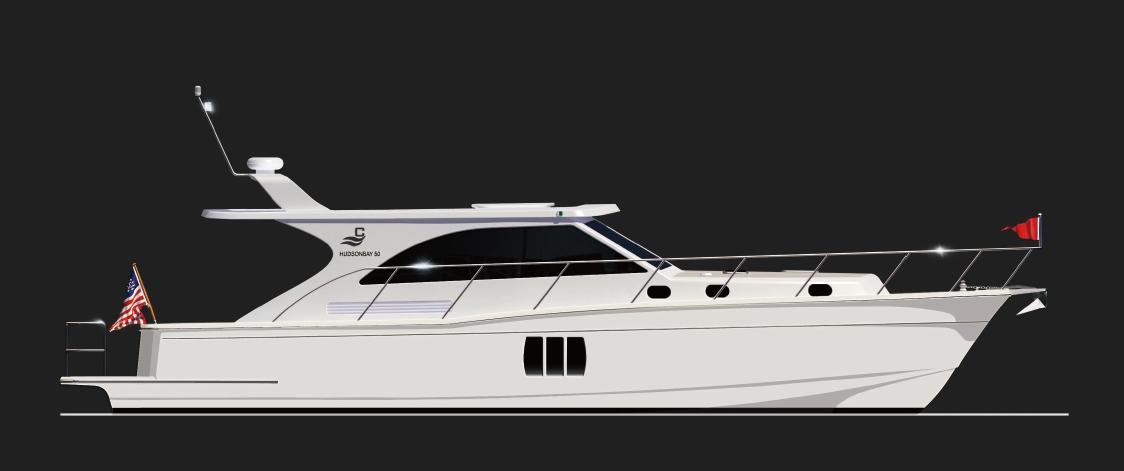 Clipper Motor Yachts Hudson Bay 50 (Motor Yacht)