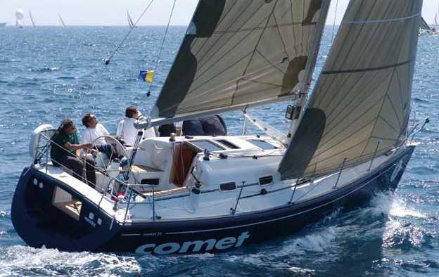 Comar Yachts Comet 33 (Sailing Yacht)