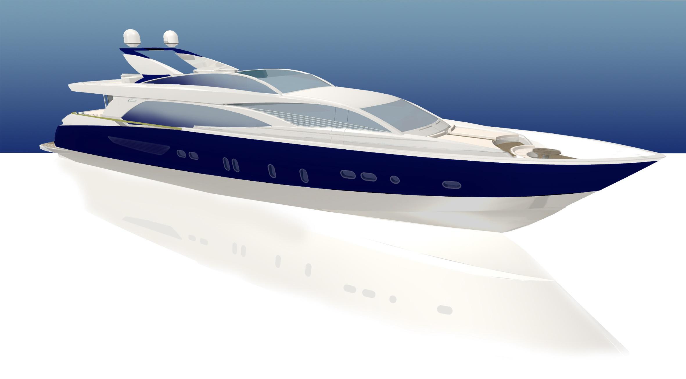 Couach 3300 Fly (Motor Yacht)