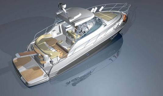 Cranchi Zaffiro 36 HT (Day cruiser)