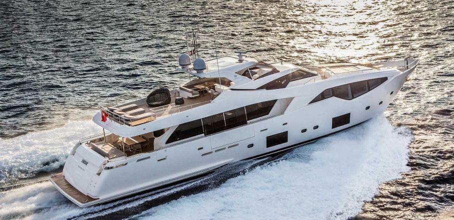 Custom Line 108 (Motor Yacht)