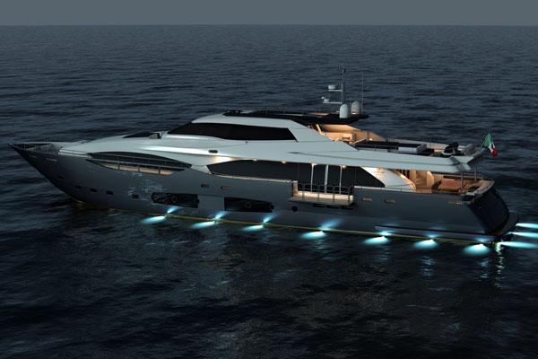 Custom Line 124 (Motor Yacht)