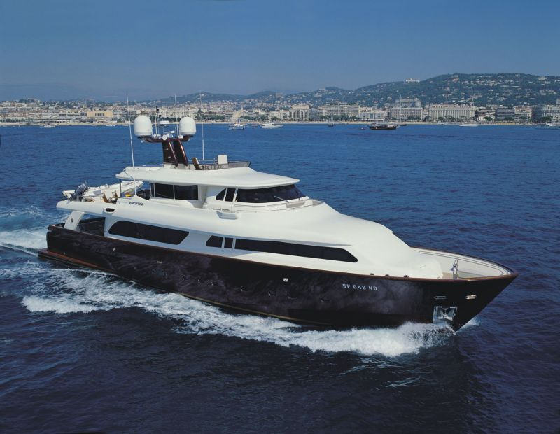 Custom Line Navetta 30 <strong>Ziacanaia</strong> (Motor Yacht)