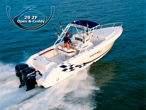 Donzi 29 ZF (Fisher)