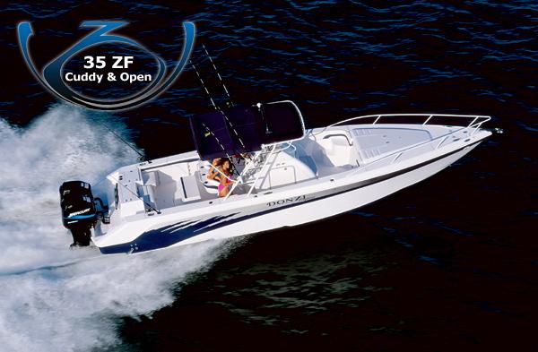 Donzi 35 ZF (Pêche)