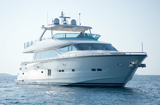 Drettmann Elegance 82 (Fly / Motor Yacht)