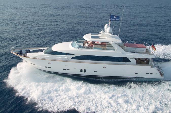 Drettmann Elegance 90 mega (Fly / Motor Yacht)
