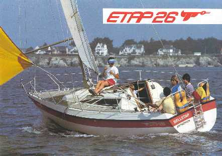 ETAP Yachting Etap 26 (Voilier)