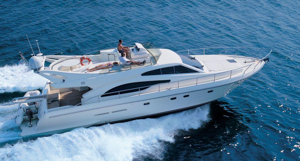 Ferretti 530 (Fly / Motor Yacht)